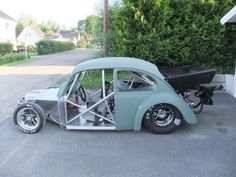 """Rebooted bug"" KB VW Race car"