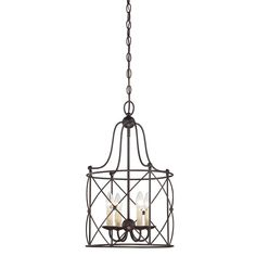 Abbate 4-Light Foyer Pendant