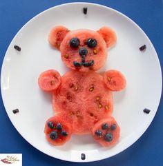 Pour faire manger des fruits aux enfants, rien de tel que notre teddy pastèque