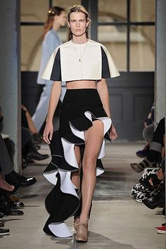 skirt with ruffle - Google Search