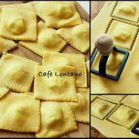Yaşasın Makarna Diyenler İçin; Ev Yapımı Peynir Dolgulu Domates Soslu Ravioli