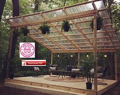 Deck Plans 473159504601064308 - Covered Deck Plan/Covered Patio Plan/Covered Shelter Plan/Covered Veranda Plan/Grill Shelter Plan/Deck Plan/Wood Deck Plan/Pavilion Plan/PDF Source by Covered Patio Plans, Covered Decks, Covered Patio Diy, Covered Pergola, Backyard Covered Patios, Outdoor Patios, Outdoor Rooms, Covered Patio Design, Covered Deck Designs