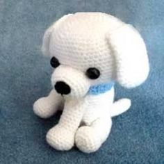 Little Kino the Puppy amigurumi pattern