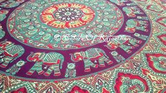 COR's Twin Elephant Mandala Tapestry, Hippie Tapestries, Wall Tapestries, Tapestry Wall Hanging, Indian Tapestry, Bohemian Bedding Psychedelic tapestry Size 60 x 85 Inch's Colors Of Rajasthan http://www.amazon.com/dp/B00ZYBGY5K/ref=cm_sw_r_pi_dp_fpN3vb1S3NMTH