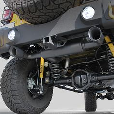 FORTEC Dual Exhaust System by Magnaflow for 07-16 Jeep Wrangler JK & JK Unlimited