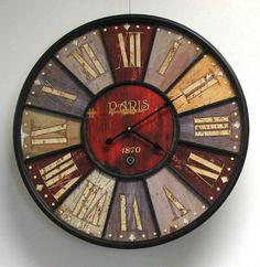 Paris London England Wall Clock Antique Style Universal http://www.amazon.com/dp/B004CADPMO/ref=cm_sw_r_pi_dp_Y4rzub15PXR69