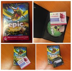 Purchase a copy of EPIC and receive a Waka voucher with your DVD! Also, stand a chance to win an EPIC hamper worth R5000 by dropping off your entry form at any Wakaberry store! #wakaberry #caledonsquare #promo