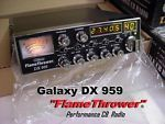 What is a Galaxy FlameThrower CB radio? Survival Project, Ebay