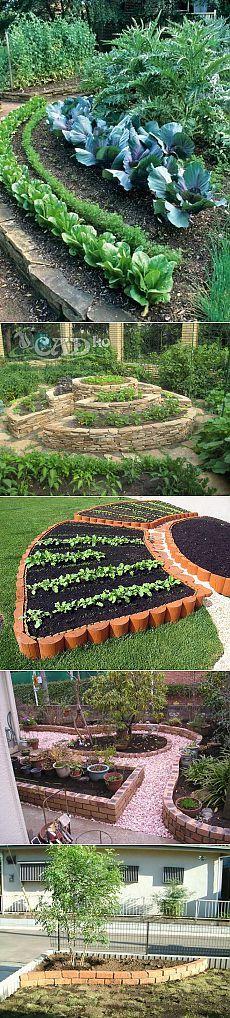 Декоративный огород: как можно оформить грядки — 6 соток