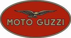"Moto Guzzi"" A collection of Motorcycle logos from days past Moto Logo, Bike Logo, Motorcycle Logo, Motorcycle Posters, Moto Guzzi Motorcycles, Vintage Motorcycles, Vintage Metal Signs, Logo Vintage, Scooters"