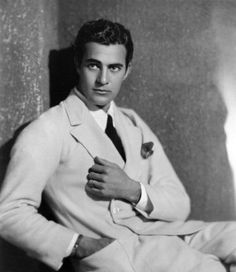 Gilbert ROLAND (1905-1994) * AFI Top Actor nominee. Born in Mexico, Roland initially planned on becoming a bullfighter like his father, but switched to acting when his family moved to the U.S. He enjoyed a successful film career for over 50 years. Notable films~ Around the World in Eighty Days, She Done Him Wrong, Three Violent People. Photo 1920s.