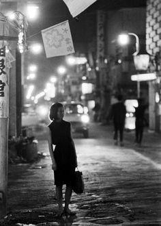aurorae:    Photograph by Michael Rougier. Japan, 1964.