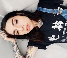 Tattoos, Makeup, Hair, Make Up, Tatuajes, Tattoo, Beauty Makeup, Bronzer Makeup, Strengthen Hair