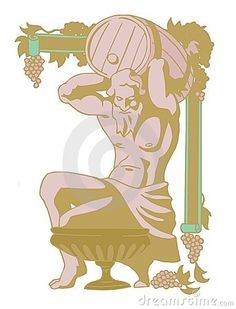 Dionysus by Politcomics, via Dreamstime
