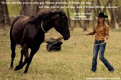 Great quote and i love this show #equine #horse #horselover http://globalhorsecents.com