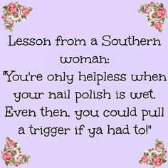 Or a Texas woman.