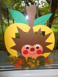 Резултат с изображение за podzimní tvoření z papíru