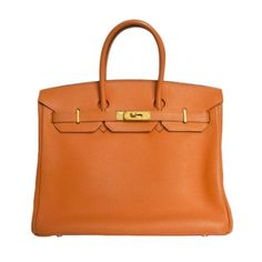 Hemes Orange Togo 35cm Birkin Bag, Sold Out in Stores