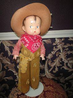 skippy cowboy doll