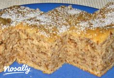 Férfi szeszély | Nosalty Hungarian Cake, Almond Cakes, Food To Make, Banana Bread, Muffin, Clean Eating, Food And Drink, Cooking Recipes, Pudding