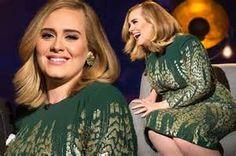 Adele green dress