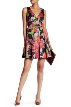 Evianna Fit & Flare Dress by Trina Turk on @nordstrom_rack