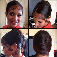 Makeup & Hair by Elisa Rampi, Denny Mendez glam look, beehive updo,Cannes Film Festival 2014, updo