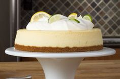 Lemon-Lime Cheesecake Recipe - Save room for dessert! Our delicious Lemon-Lime Cheesecake is inspire. Cheesecake Deserts, Mini Cheesecake Recipes, Mini Cheesecakes, Kraft Recipes, Lemon And Lime Cheesecake, Just Desserts, Dessert Recipes, Lime Cream, Lemon Lime