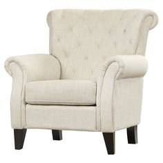 Tamara Tufted Arm Chair & Reviews | Joss & Main