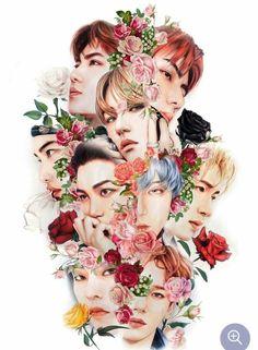 EXO Fanart ❤️ This is amazing Exo Xiumin, Kpop Exo, Baekhyun Fanart, Exo Chen, Kpop Fanart, Shinee, Jonghyun, Exo Cartoon, L Wallpaper