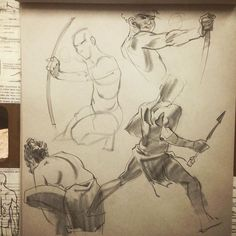 #drawing #sketching #quickstudies #charcoal #charcoaldrawing #tarzan #tarzanboy #bow #archery