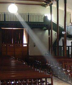 El ojo de buey de la Catedral. Buga