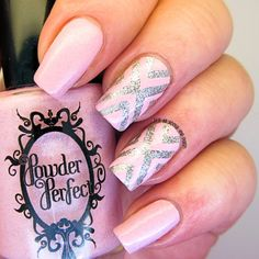 It's all about the polish: Powder Perfect Isolde X design