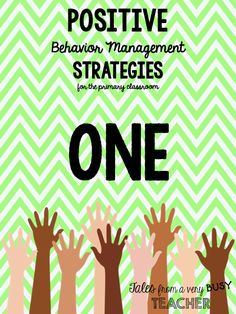 TEN Behavior Management Strategies {for the Primary Classroom} - Tales from a Very Busy Teacher
