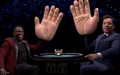 What was Jimmy Fallon thinking by playing Slapjack with Kevin Hart? There is not way you can feel anything! Take a look and you decide!