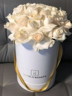 Whether sending wishes over a special occasion or appreciating someone's effort, the Flowers Delivery Toronto services from LuxFlowerBox are the best. You can take your lover by surprise by gifting a beautiful box of roses. Or, you can choose our White Roses Delivery services for a friend who is always there for you.