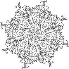 Bodhi Tree Coloring Page Adultcoloring Mandalas Mondaymandala Ilovetocolor Art