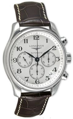 Longines Master Collection Chronograph Stainless Steel Mens Watch L26934783 Longines,http://www.amazon.com/dp/B000XUFZSY/ref=cm_sw_r_pi_dp_0DGktb0EERXFMY8J
