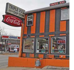Triple XXX Family Restaurant in West Lafayette, Indiana