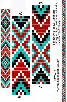 Beaded Loom Pattern