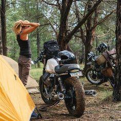 "uglybrosusa: "". Camping anyone? @thedustycoyote    @chrishinkle Motorpool-G…"