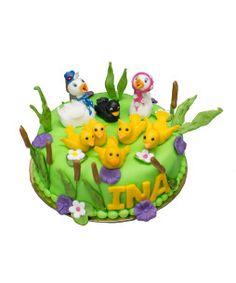 little ducks cake Duck Cake, Little Duck, Bowser, Birthday Cake, Ducks, Children, Desserts, Character, Cakes