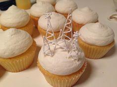 Snowy Cupcake!