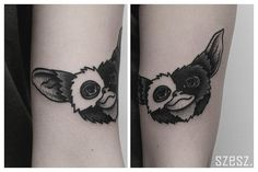 """""""Little Gizmo from today Black Tattoo Art, Black Tattoos, Tattoo Care, I Tattoo, Love Tattoos, Tatoos, Random Tattoos, Gizmo Tattoo, Horror Movie Tattoos"""