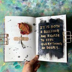 Art journals 559361216222463314 - Source by j_zuber Art Journal Pages, Bullet Journal Writing, Journal Quotes, Bullet Journal Ideas Pages, Bullet Journal Inspiration, Art Journals, Poetry Journal, Photo Journal, Kunstjournal Inspiration