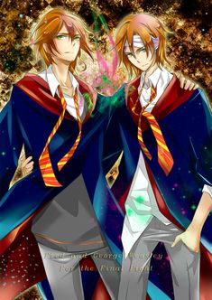 Fred and George Weasley by dannysora.deviantart.com on @deviantART