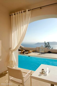 Luxurious Caldera View Suite with Pool at the Gold Suites in Santorini