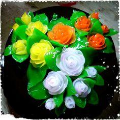 #3DPudding #rose #chocolate