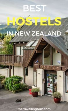 Ultimate list of best hostels in New Zealand. Find out what backpackers in New Zealand to stay at. If you want to know where to stay in New Zealand, check out my guide!