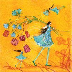 Rechercher - e-mages - La carterie d art Art And Illustration, Marie Cardouat, Illustrator, Art Fantaisiste, Art Carte, 3d Prints, Art Moderne, Heart Art, Whimsical Art